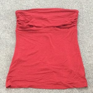 Express Red Tube Top